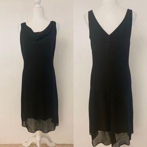 ONYX Nite Sleeveless Cocktail Dress Black Size 12